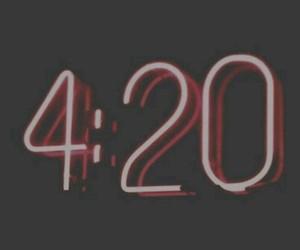 420, glow, and marijuana image