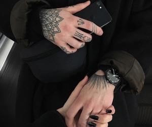 couple, tattoo, and tumblr image