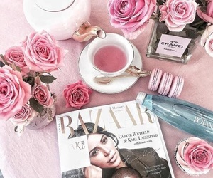 roses and tea image