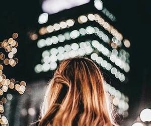 lights, christmas, and city image