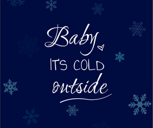 christmas, quotes, and cold image