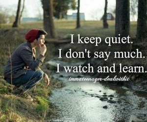 quotes, learn, and quiet image