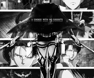 choice, levi, and no regrets image