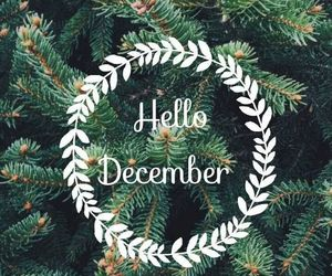 december, christmas, and hello image