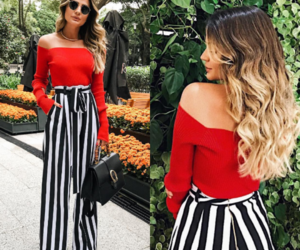 black and white, blogger, and fashion image