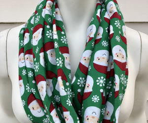 etsy, green scarf, and gifts for her image