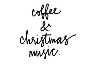 christmas, coffee, and quotes image