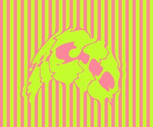 acid, lime green, and neon image
