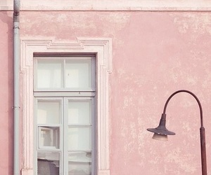 pink, pastel, and window image