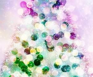 art, Christmas time, and bokeh image