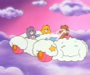 cartoon, care bears, and pink image