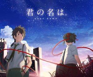 anime, anime couple, and kimi no na wa image