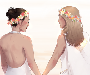 fanart, Supergirl, and supercorp image