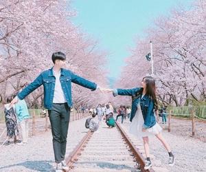 couple, ulzzang, and korea image
