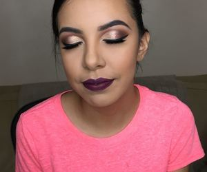 dark, makeup, and maquillaje image