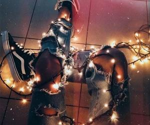 aesthetics, christmas, and christmas lights image