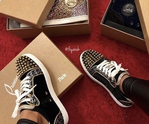 louboutin and shoes image