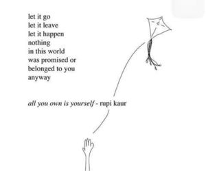 quotes, rupi kaur, and poetry image