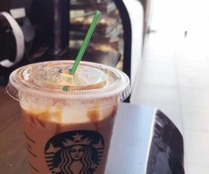 coffee, starbucks, and white mocha image