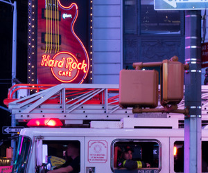 city, urban, and hard rock cafe image