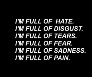 pain, sad, and sadness image