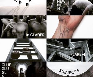 aesthetic and the maze runner image