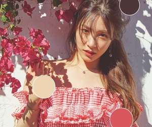 color, kpop aesthetic, and kpop image