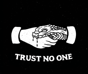 trust and snake image