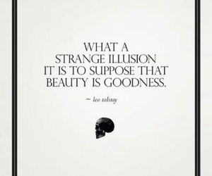 quotes, beauty, and illusion image