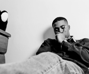 american, black and white, and hiphop image