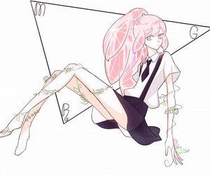 anime, morganite, and houseki no kuni image