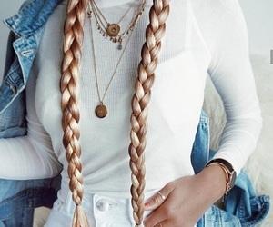 fashion, style, and braid image