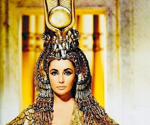 60s, cleopatra, and Elizabeth Taylor image