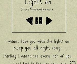 Lyrics, shawn mendes, and song image