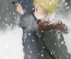 South park and craig x tweek image