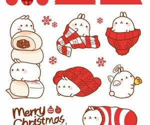 christmas, planner, and stickers image