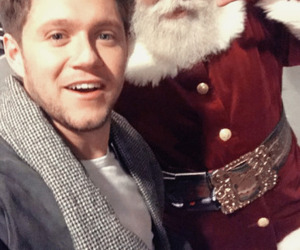 beautiful, santa claus, and one direction image
