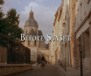 aesthetic and before sunset image