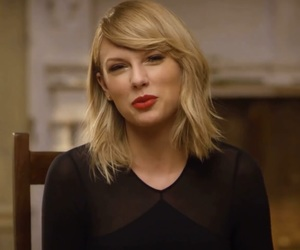 blonde, redlips, and taylorswift image