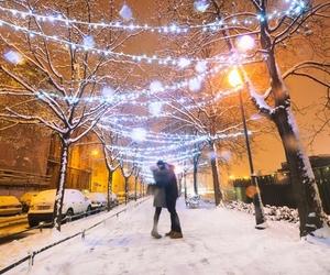 advent, christmas, and couple image