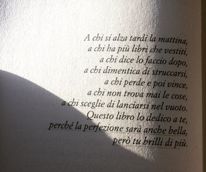 book, italian, and quotes image