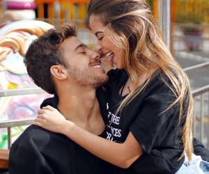 alternative, hug, and couple image