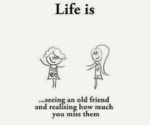 miss you, love you my old friend, and me + an-marie image