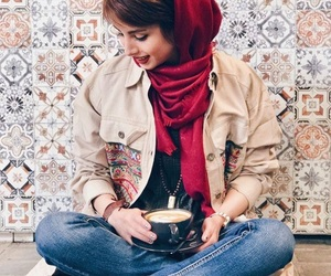 fashion, tea, and girly image