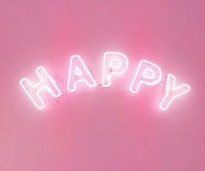 pink, wallpaper, and happy image