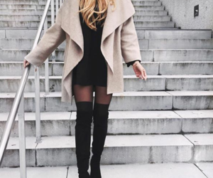 style, coat, and fashion image