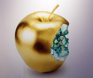 aesthetic, apple, and art image