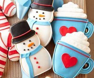 Cookies, christmas, and dessert image