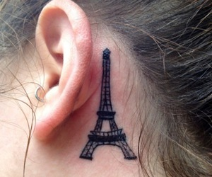 j, tower, and eiffel image