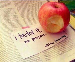 apple, snow white, and disney image